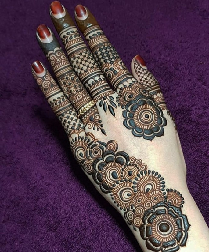 arabic bridal mehndi design ideas on sensod 2019
