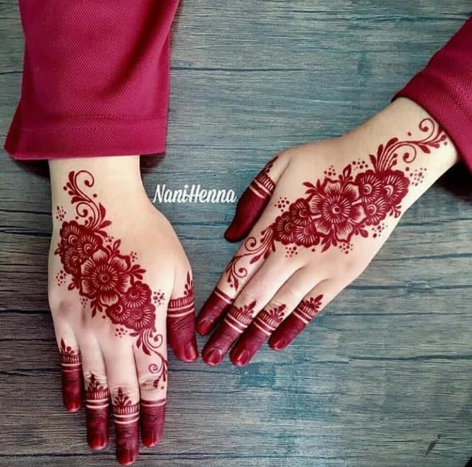 arabic festival bridal mehndi design ideas