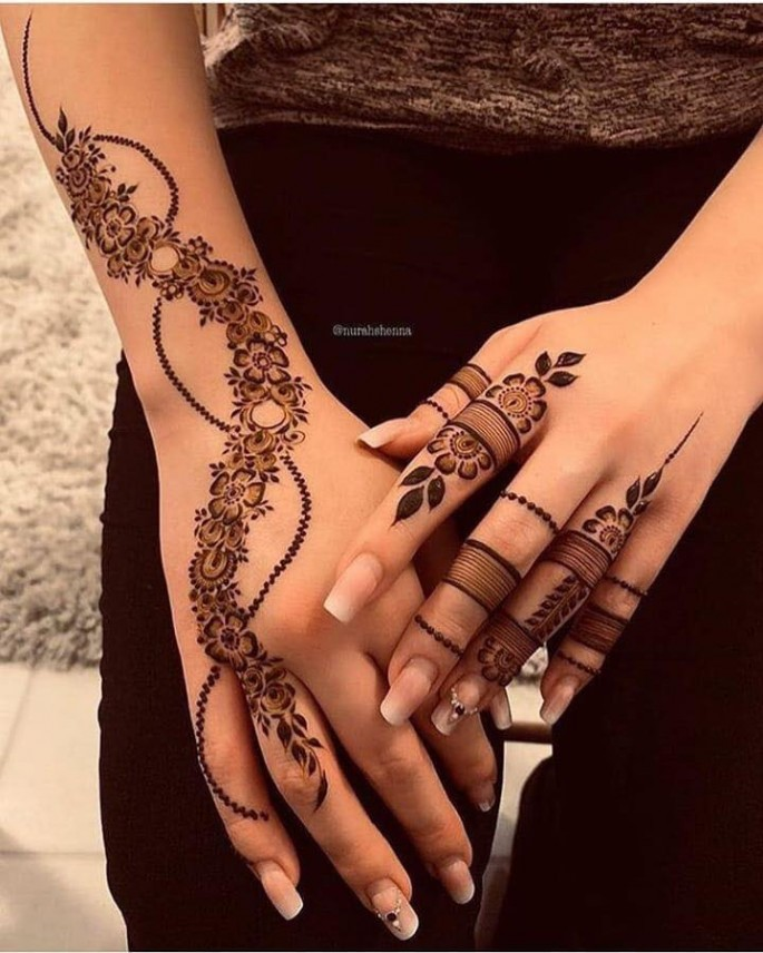 mehndi designs for festival