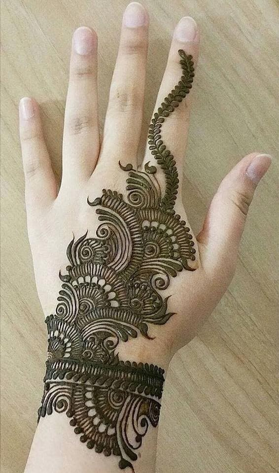 mehndi designs for festival on sensod