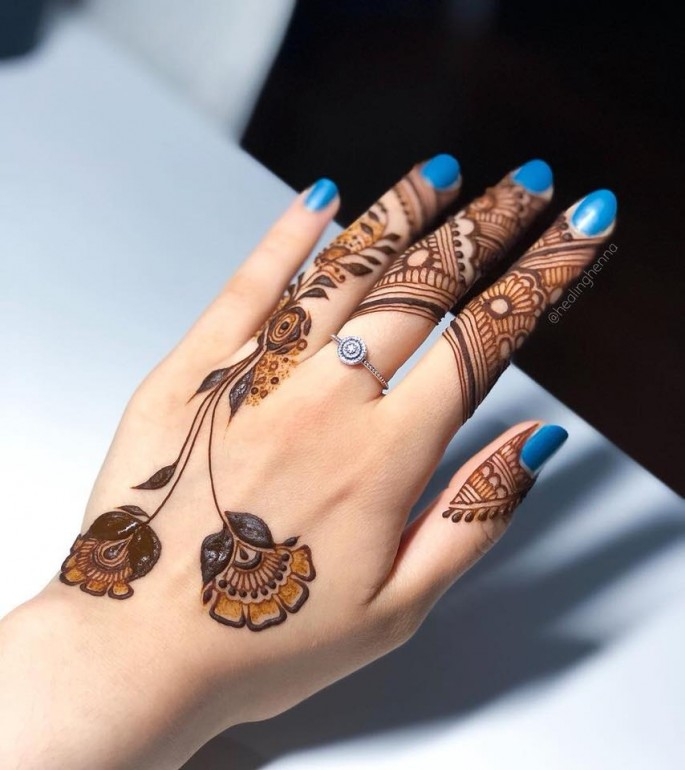 pakistani mehndi design ideas