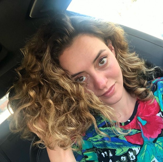 Medium Length Curly Hairstyles for Square Faces