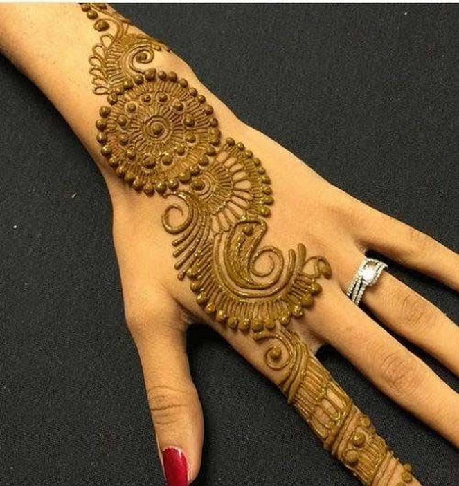 35 Beautiful And Easy Eid Festival Mehndi Designs For Girls Sensod