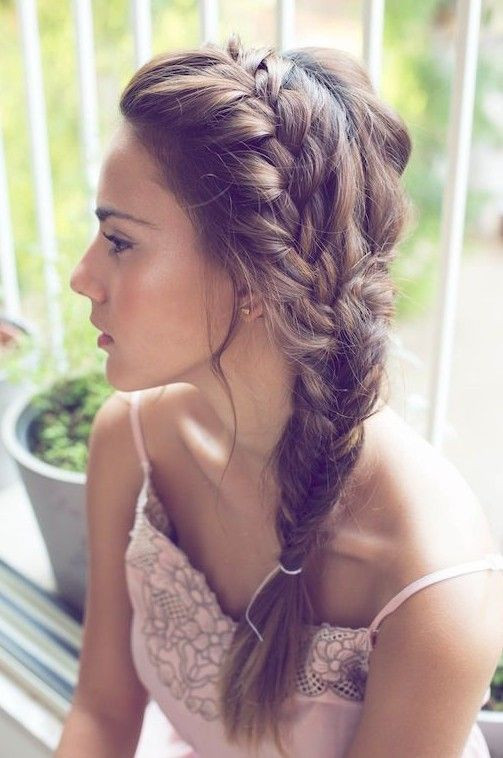Fishtail Braid for Summers Asian Hairstyles for Girls