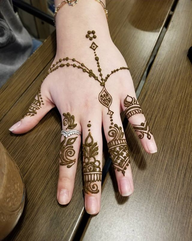 stylish pakistani mehndi designs ideas