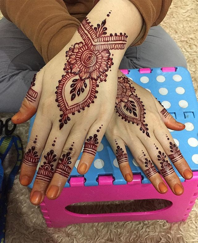 easy pakistani hands mehndi designs ideas