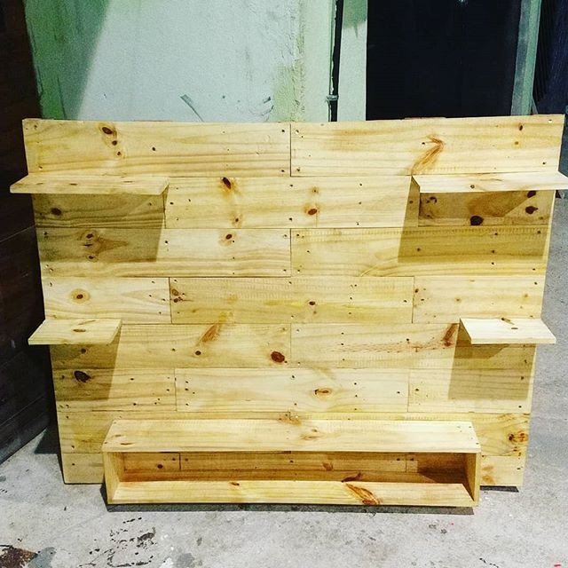 Pallet Tv wall stand ideas