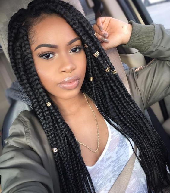 Big Afro Style Crochet Braid Hairstyles for Women