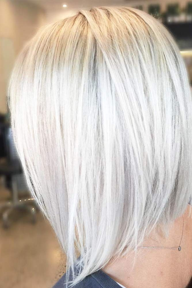 Messy Straightened LookHairstyles For Medium hair