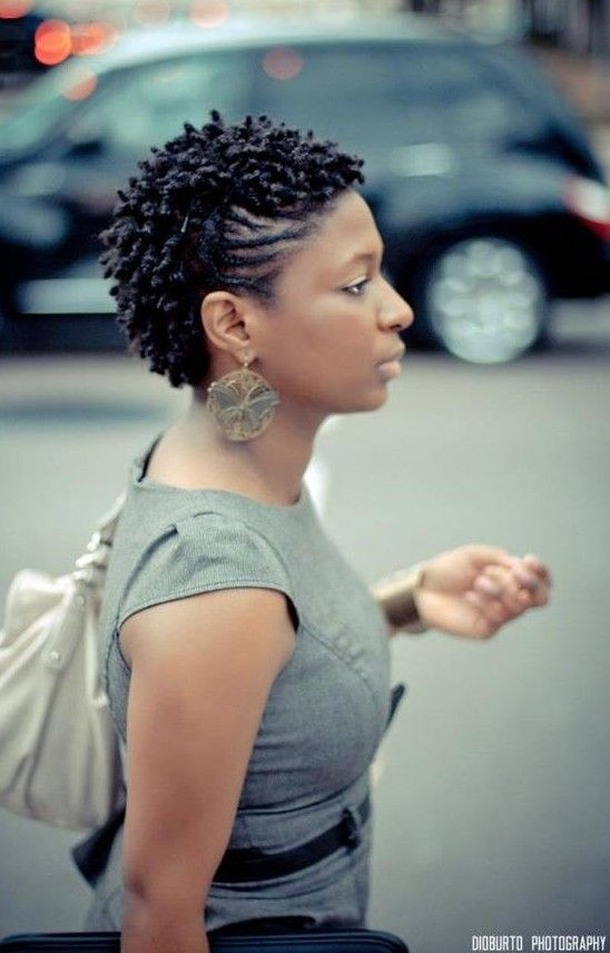 Short with a Twist Hairstyles for Women Over 40s