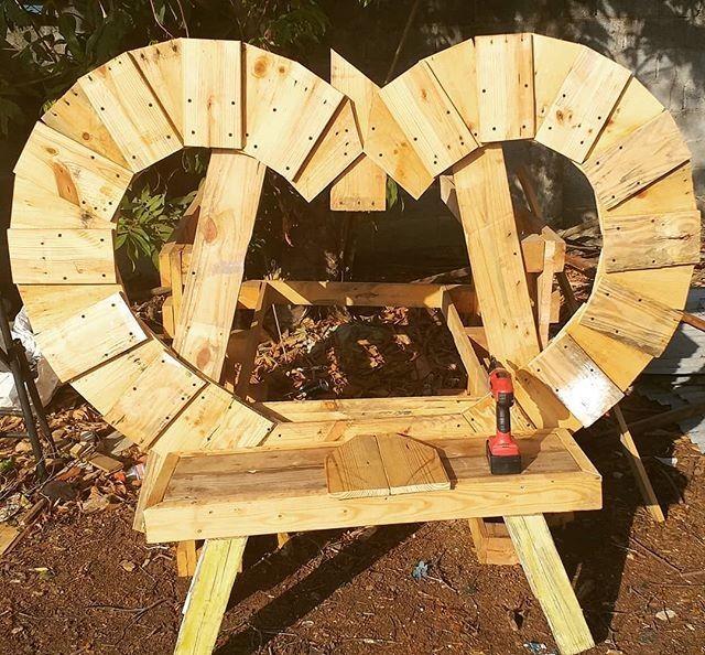 Pallet bench furniture ideas