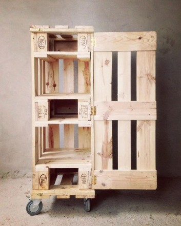 Pallet storage box ideas
