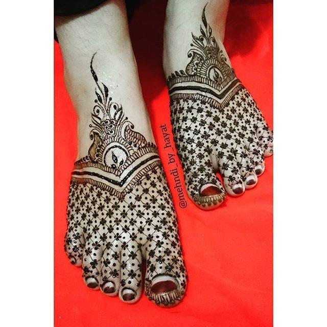 full Foot mehndi designs in 2018