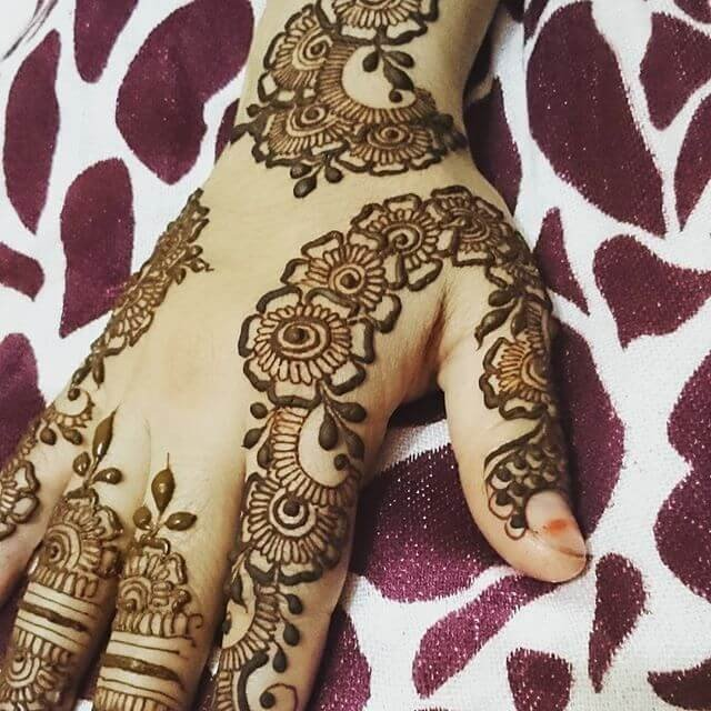 36 Latest Simple but Unique Finger Eye-catchy Mehndi Designs