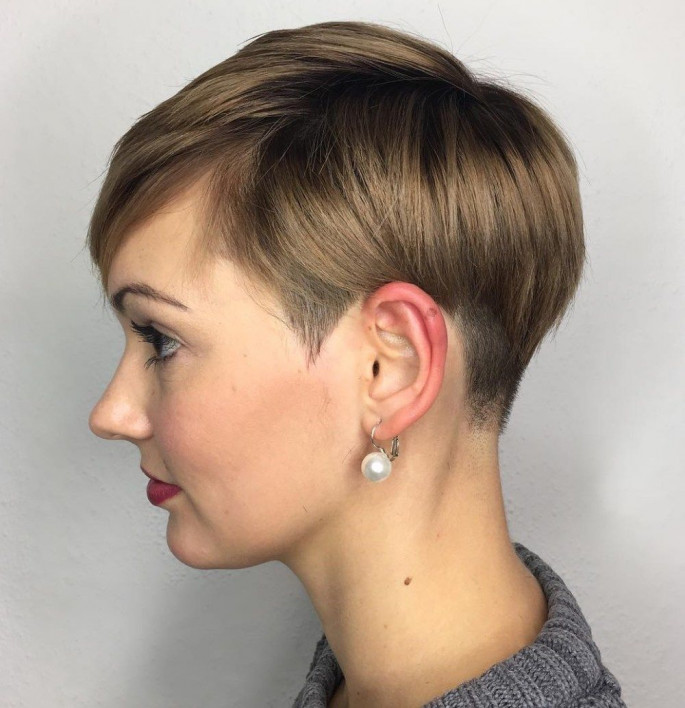 Boyish Haircut Short Curly Hairstyles & Haircuts for Women