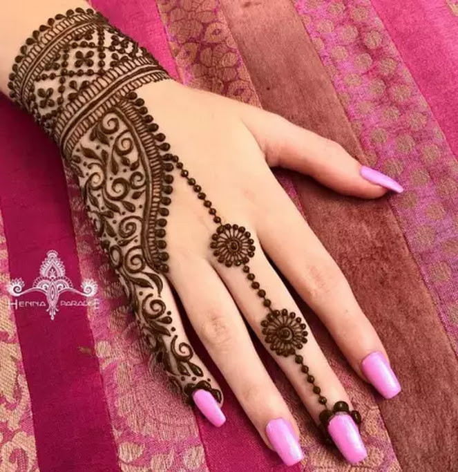 Easy Mehndi Design ideas