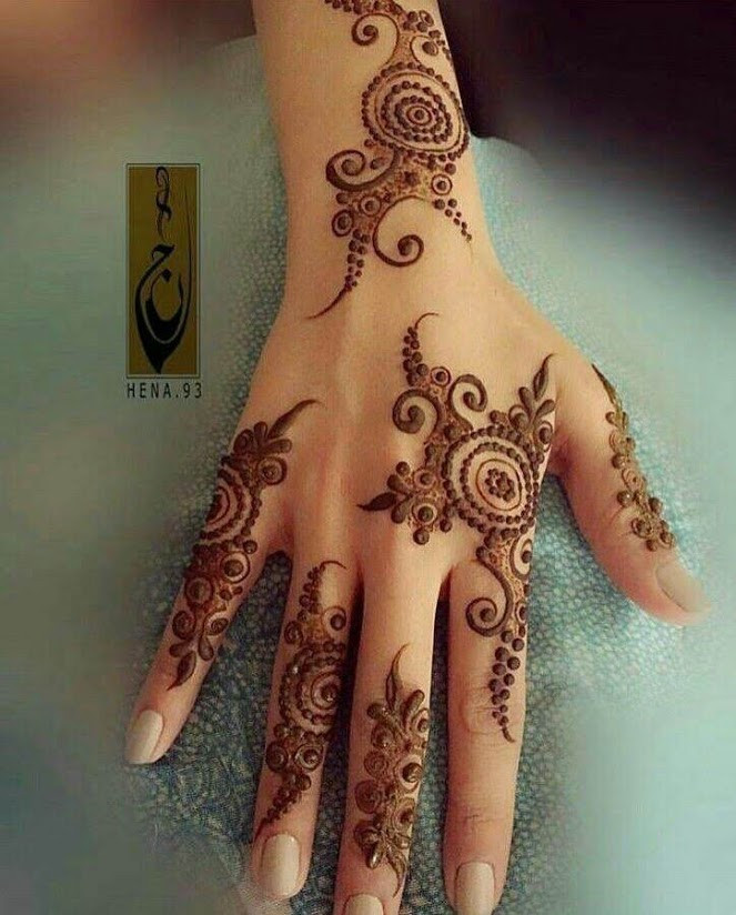 Easy Mehndi Design ideas 2018