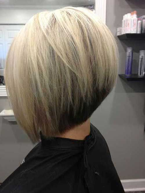 Inverted Bob Short Bob Hairstyles & Haircuts for Women