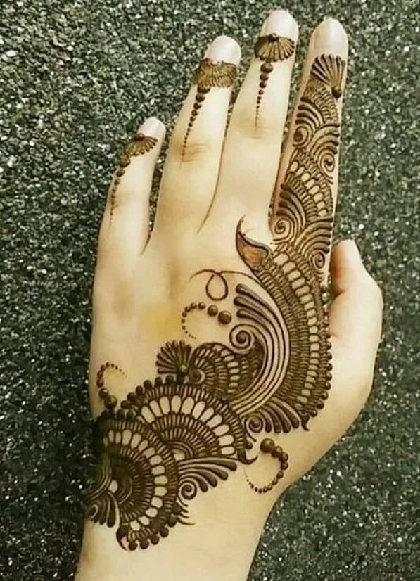 Top new year Henna Designs for Your Beautiful Hands 2019