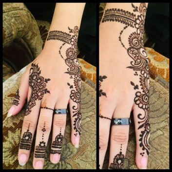 Top 20 Front And Back Hands Simple Mehndi Designs Ideas