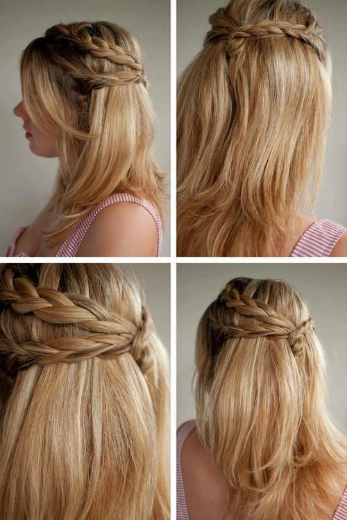 step by step Waves hairstyles for cute girls in 2018
