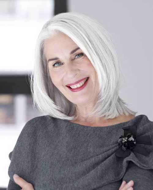 31+ Hairstyles for Older Women 2019 You Will Amaze - Sensod