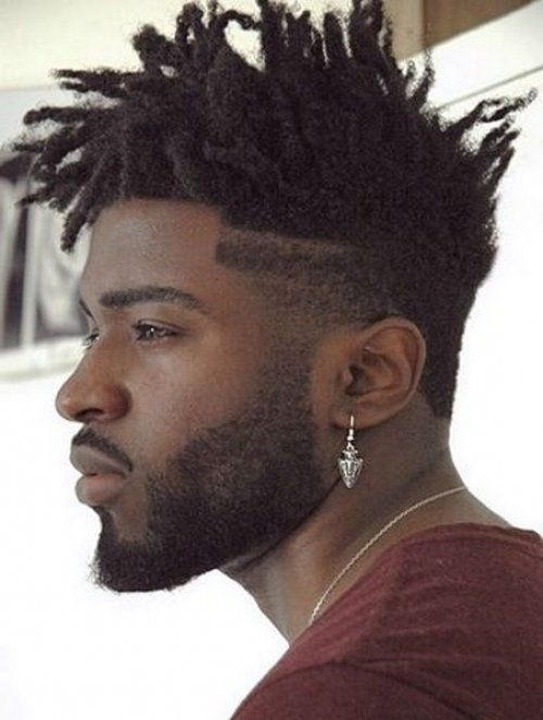 Spiked style Medium Length Hairstyles For Men