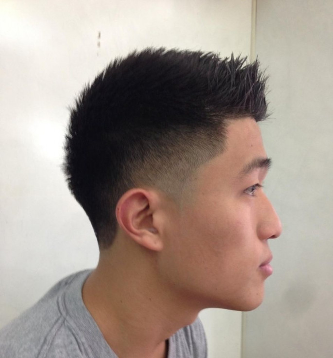 Spiked asian Short Hairstyles