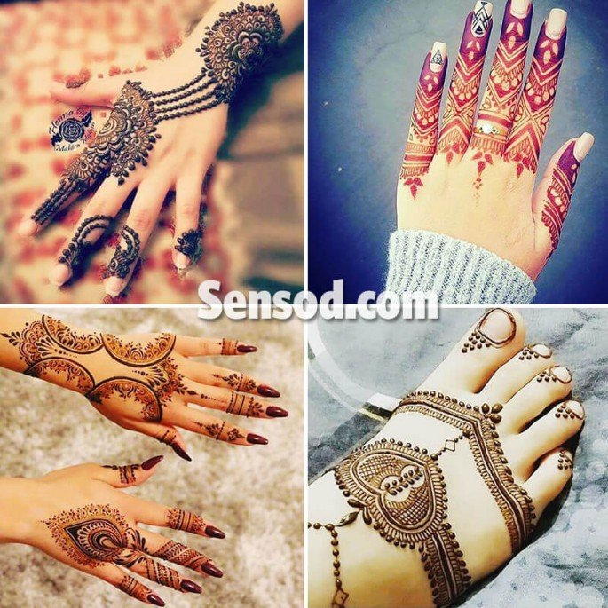 39+ Awesome And Spectacular Mehndi Designs on Sensod