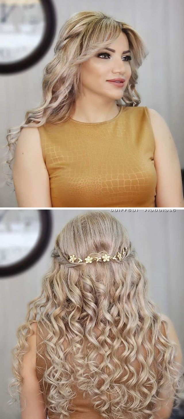 Long Curly Hairstyles For Summer