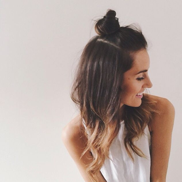 Top-Knot Girls Hairstyles That Are Seriously Cute