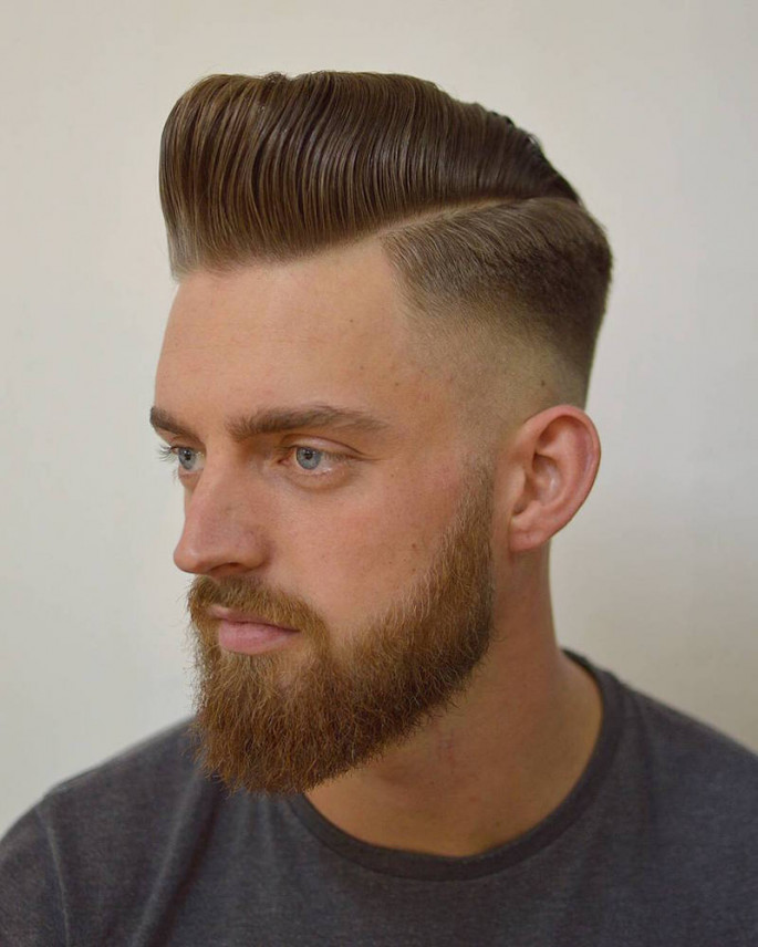 Classic Quiff Hairstyle for Men 2018
