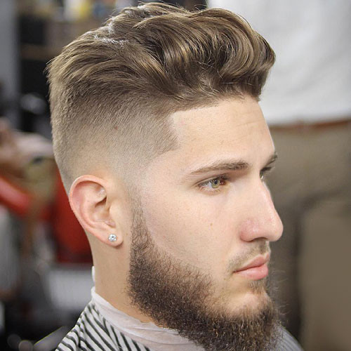 Brushed Up Hairstyles Best Short Hairstyles for Men