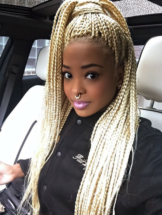 Blonde Cornrows Braids styles