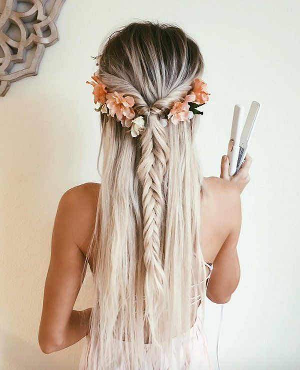Boho Fishtail Braids