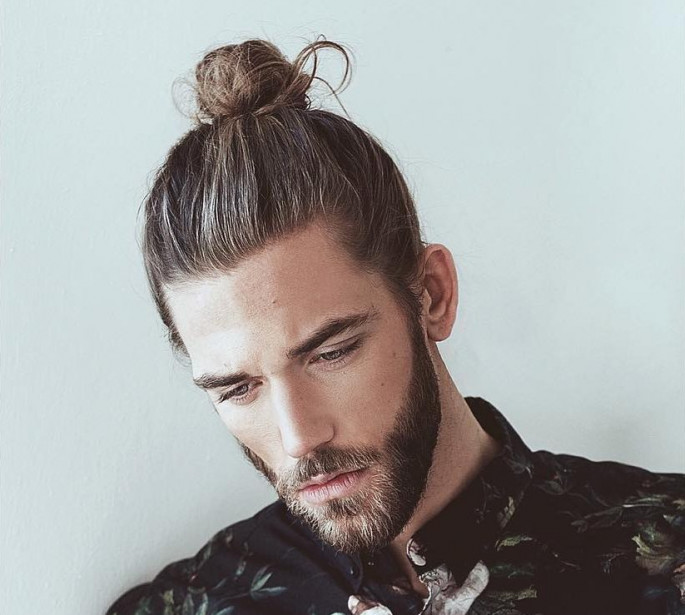 Man bun hairstyles