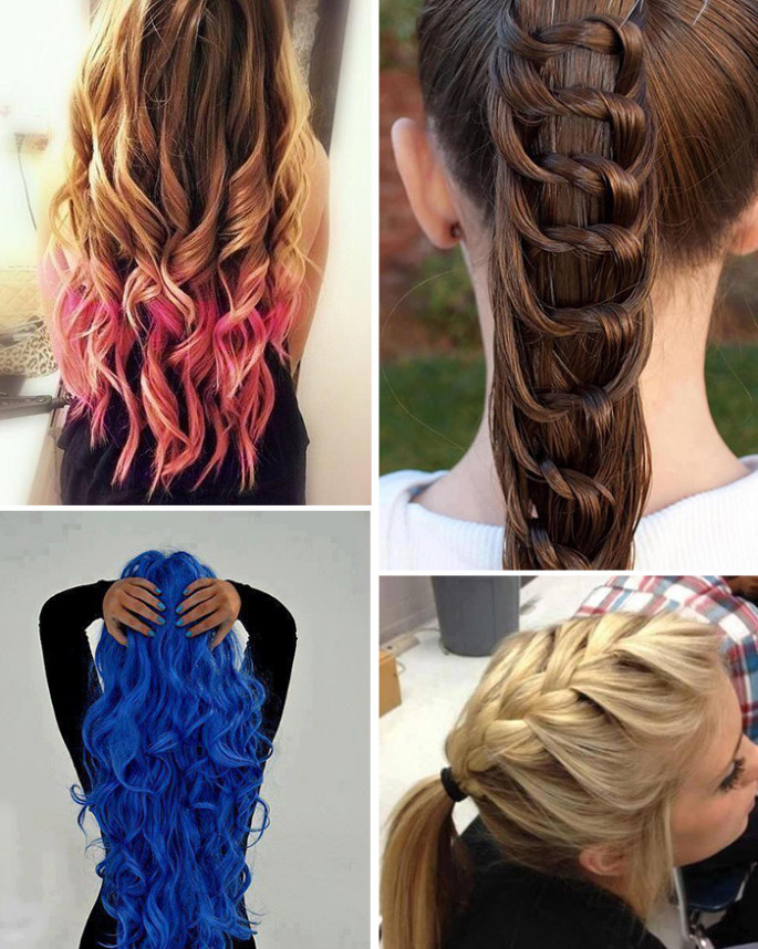 Best 80 Cute Girls Hairstyles for Functions and Parties - Sensod ...
