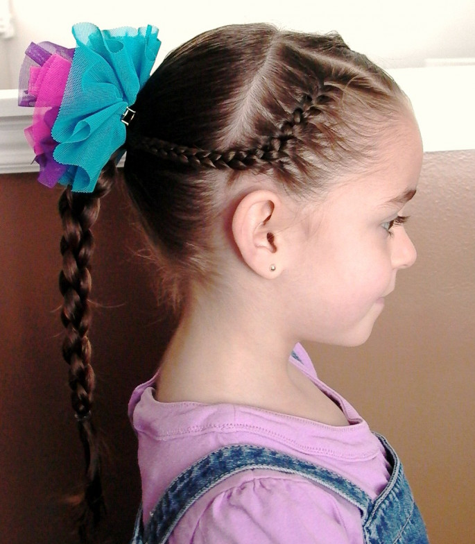Braid Hair Little Girls' Hairstyles For Your Princess
