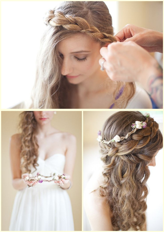 Flower Clip hair Dazzling Hairstyles for Thin Hair to Try Now