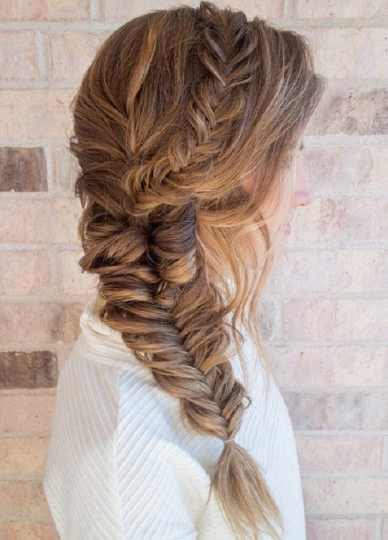 Side Dutch Fishtail Braid Girls Hairstyles That Are Seriously Cute