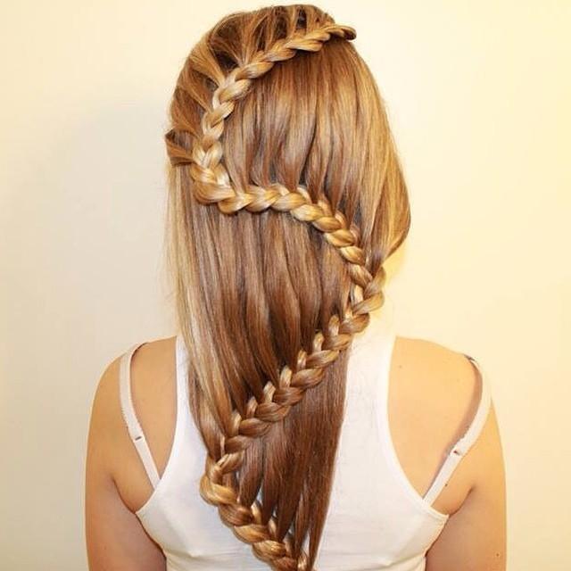 Carousel braid