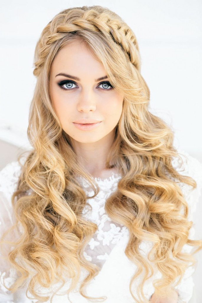 Lace Braid Hair BandWavy HairstylesFor Bob You Will Love