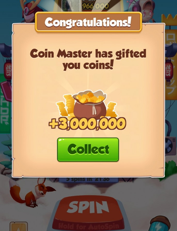 Coin Master Free Spins Daily Links Updated Today