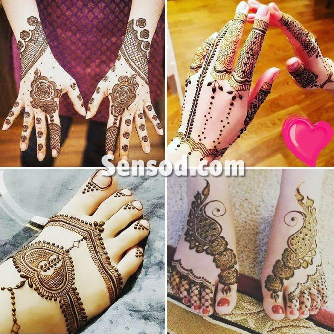 Detailed Trendy and Stylish Mehndi Design Images