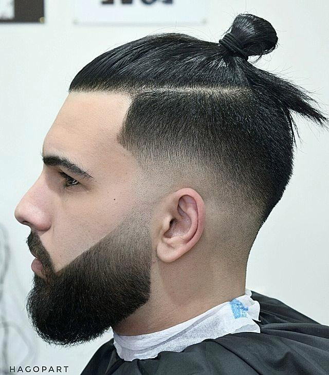 Top Knot Long Hairstyles for Men to Look More Handsome