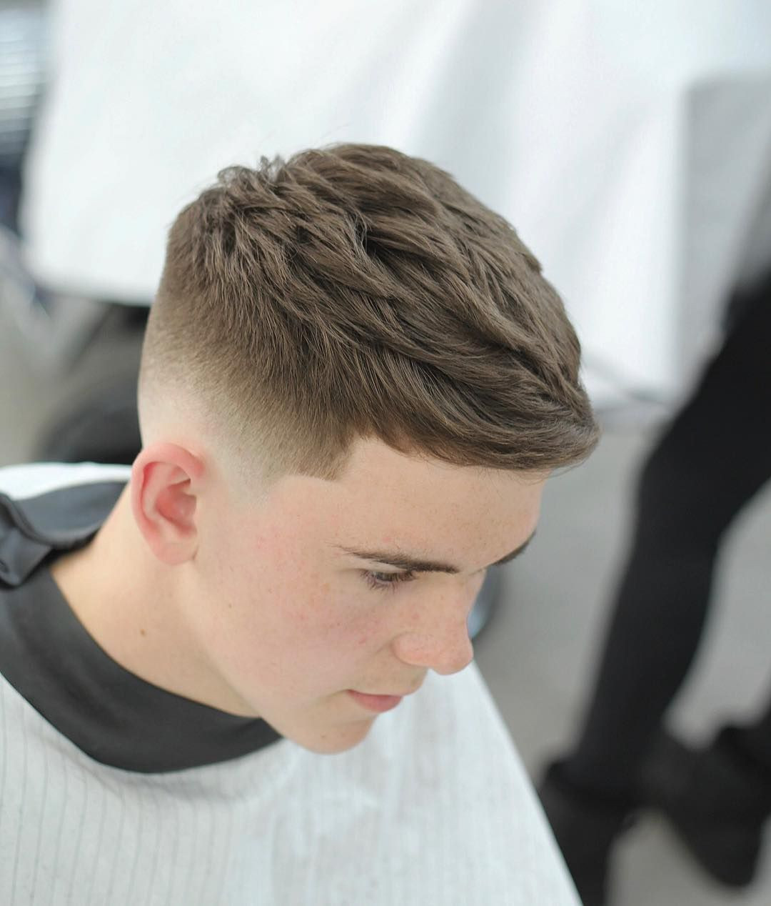 how to add texture to short fine hair
