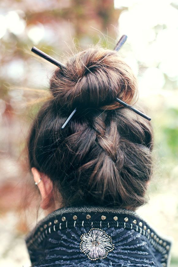 A Little History About Braided Bun Hairstyles