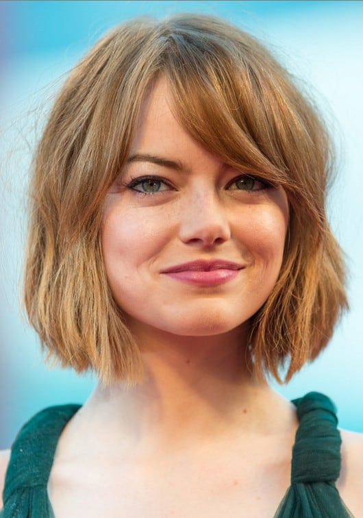 Thick Hair Hairstyles with Bangs in 2018