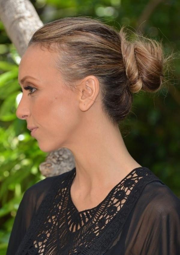 Ear BunsHairstyles For Medium hair