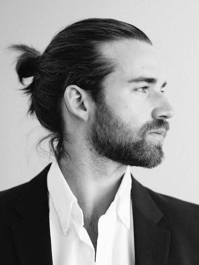 man bun hairstyles 2018